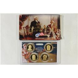 2009 US PRESIDENTIAL DOLLAR PROOF SET WITH BOX