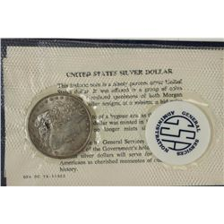 GSA SOFT PACK 1887 MORGAN SILVER DOLLAR