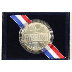 1992-D WHITE HOUSE UNC SILVER DOLLAR