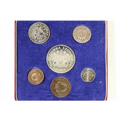 1964 SIERRA LEONE 6 COIN PROOF SET IN CASE