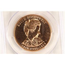 2013 EDITH ROOSEVELT MEDAL PCGS MS68RD