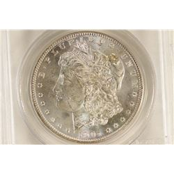1904-O MORGAN SILVER DOLLAR PCGS MS63