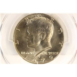 1979-D KENNEDY HALF DOLLAR PCGS MS66