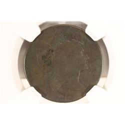 1796 LIBERTY CAP US LARGE CENT NGC AG DETAILS