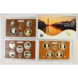 2014 US PROOF SET (WITH BOX) 14 PIECES