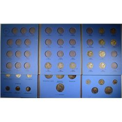SETS; STANDING LIBERTY QUARTER 11 diff COINS; 20th CENTURY TYPE SET COMPLETE