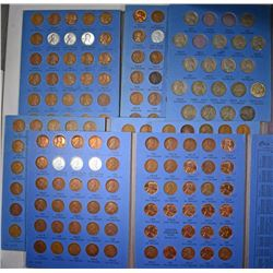SETS; 5-1941 & UP LINCOLN CENTS; 1909-1940  ONE-A-YEAR with 1922-D LINCOLN CENT;