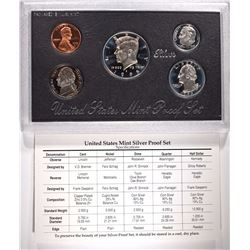 1995 U.S. SILVER PROOF SET IN ORIGINAL PACKAGING   BETTER DATE