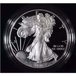 2016 PROOF AMERICAN SILVER EAGLE IN ORIGINAL PACKAGING