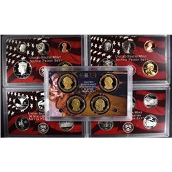 2006 & 2007 U.S. SILVER PROOF SETS IN ORIGNAL  PACKAGING