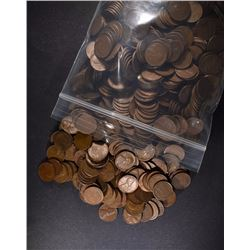 ( 1000 ) MIXED DATE LINCOLN WHEAT CENTS