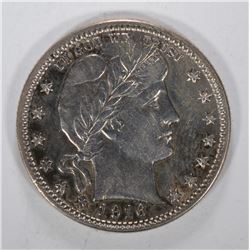 1916-D BARBER QUARTER - CHOICE BU