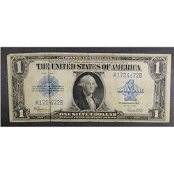 1923 $1.00 SILVER CERTIFICATE, NICE CIRC