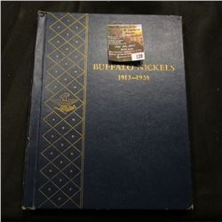 120.(21) coins 1927-1938 D Buffalo Nickels G-VF In a Whitman Deluxe Coin Album.