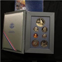 361.1986 U.S. Prestige Proof Set, Original as issued.
