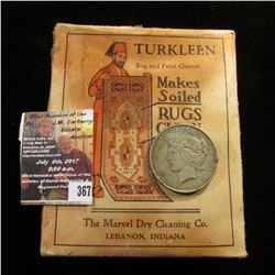 "367.Original unopened ""Turkleen Rug and Paint Cleaner Makes Soiled Rugs Clean The Leader of All Clea"