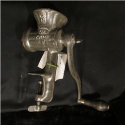 "397.""KK II E.C. Simmons Keen Kutter U.S.A."" Mechanical Meat Grinder."