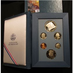 552.1987 S U.S. Prestige Proof Set, Original as issued.