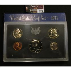 573.1971 S U.S. Proof Set, original as issued.