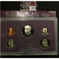 578.1984 S U.S. Proof Set, original as issued.