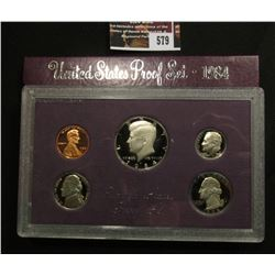 579.1984 S U.S. Proof Set, original as issued.