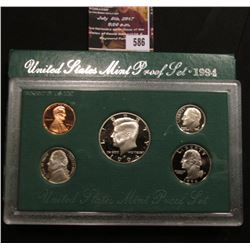 586.1994 S U.S. Proof Set, original as issued.