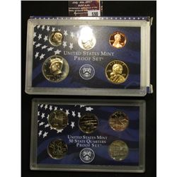 590.2001 S U.S. Proof Set, original as issued.