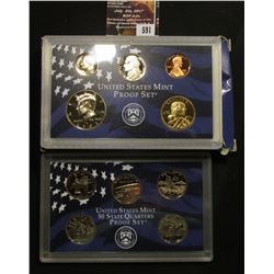 591.2001 S U.S. Proof Set, original as issued.