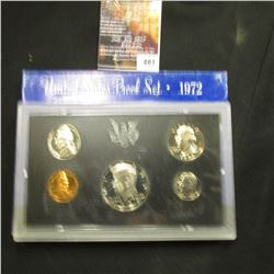 603.1972 S U.S. Proof Set, original as issued.