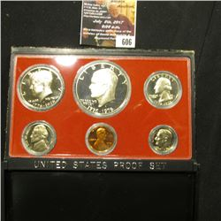 606.1976 S U.S. Proof Set, original as issued.