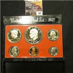 607.1977 S U.S. Proof Set, original as issued.