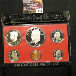 608.1978 S U.S. Proof Set, original as issued.