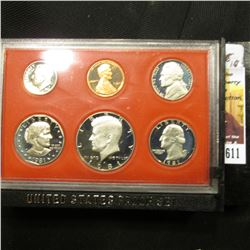 611.1981 S U.S. Proof Set, original as issued.