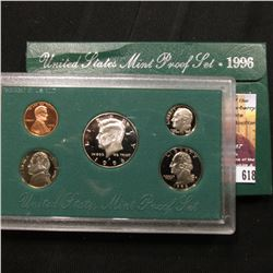 618.1996 S U.S. Proof Set, original as issued.