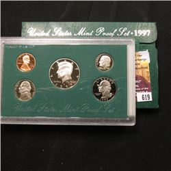 619.1997 S U.S. Proof Set, original as issued.