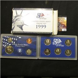 620.1999 S U.S. Proof Set, original as issued.