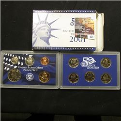 621.2001 S U.S. Proof Set, original as issued.