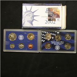 622.2002 S U.S. Proof Set, original as issued.
