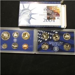 624.2004 S U.S. Proof Set, original as issued.