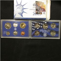 625.2005 S U.S. Proof Set, original as issued.