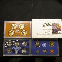 627.2007 S U.S. Proof Set, original as issued.