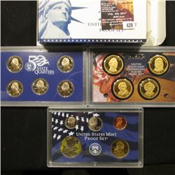 628.2008 S U.S. Proof Set, original as issued.
