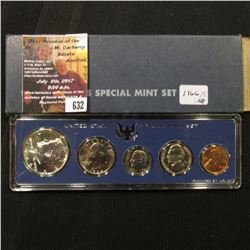 632.1966 United States Silver Special Mint Set in original case of issue.