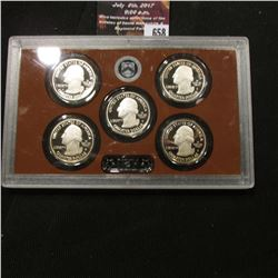658.2014 S United States Mint America the Beautiful Quarters Proof Set, In original plastic case as