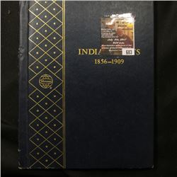 "683.""Indian Cents 1856-1909"" Whitman coin album containing 1889-1899, 1901-04, & 1908. (16 coins)."