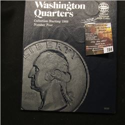 784.1988-98 Partial Set of Washington Quarters in a blue Whitman folder.