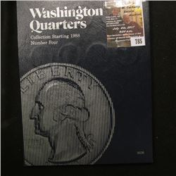 785.1988-2000 Partial Set of Washington Quarters in a blue Whitman folder. ($10 face value).