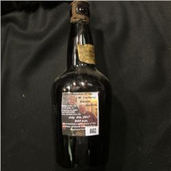 "802.Original amber bottle of ""Malt-Vigor A Food Tonic and an Invigorator Birk Bros' Brewing Co. Chic"