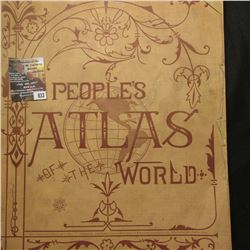 "833.""People's Atlas of the World"", April, 1894."