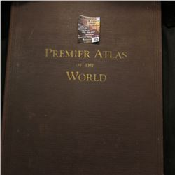 "835.""Premier Atlas of the World"", Rand McNally & Company, 1926."